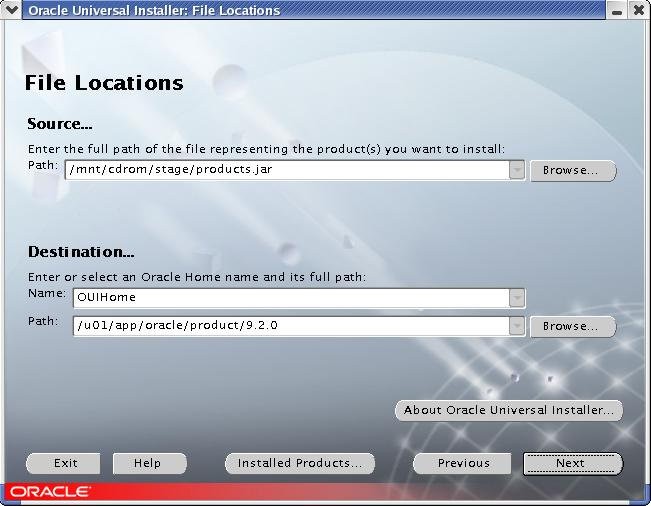 Installation of Oracle 9i Real Application Cluster (RAC